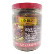 Molho LKK Pimenta e Feijão Chili Bean Sauce Toban Djan 226g