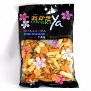 Okaki Aperitivo Sakura Mix 100g