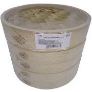 Panela de Bambú para Cozimento à Vapor Diam. 21cm