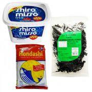 Produtos p/ fazer Missoshiro Sopa de Missô - Tipo 1