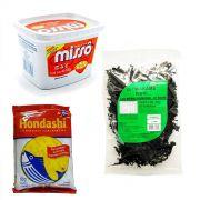 Produtos p/ fazer Missoshiro Sopa de Missô - Tipo 2
