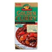 S&B Golden Curry Chukara 92g (Médio)