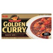 S&B Golden Curry Hot 220gr (Forte)