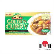 S&B Golden Curry Medium Hot 220gr (Médio verde)