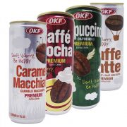 Seleção Café Lata Okf Coreano Gelado Quente 4 Sabores