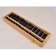 Soroban Ábaco Japonês Calculadora com 13 Colunas (Branco)