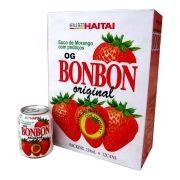 Suco Bonbon com Pedaços de Morango - 12 Unidades