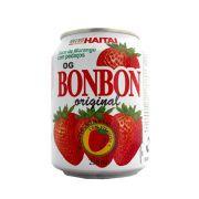 Suco Bonbon com Pedaços de Morango 238ml - Haitai