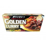 Tempero Golden Curry Hot Forte 198g - S&B