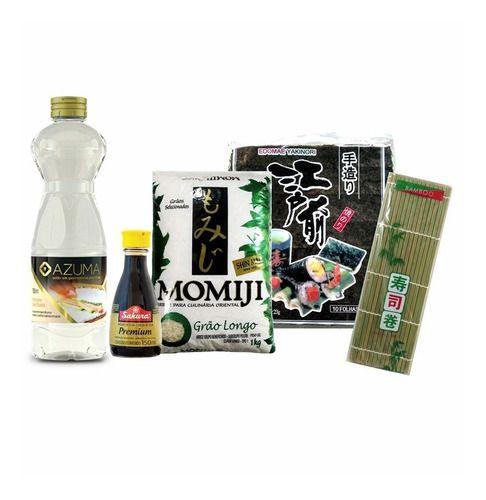 Seleção Produtos para Fazer Sushi - Kit 1