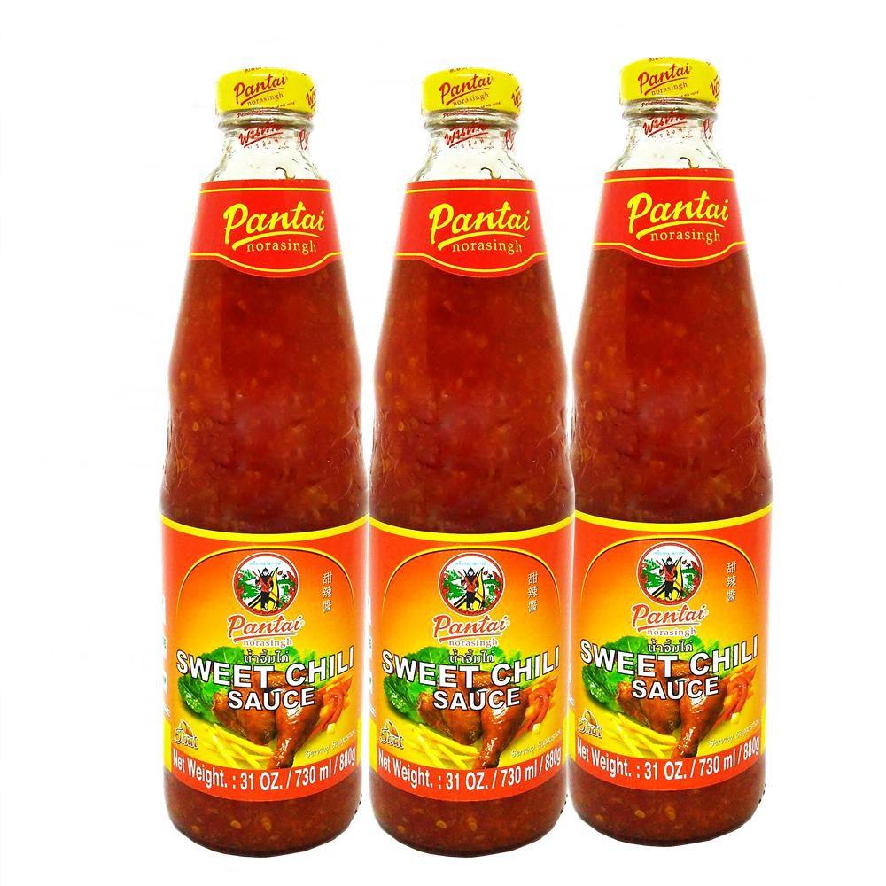 3x Pantai Molho Agridoce P/ Frango Sweet Chilli Sauce 880g
