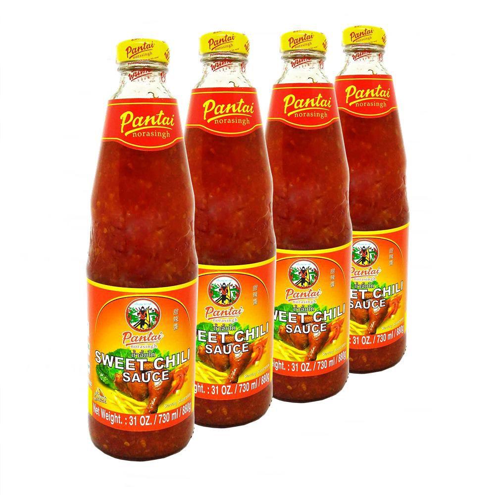 4x Pantai Molho Agridoce P/ Frango Sweet Chilli Sauce 880g