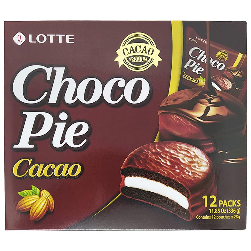 Alfajor Chocopie Cacao 12pc 336g Lotte