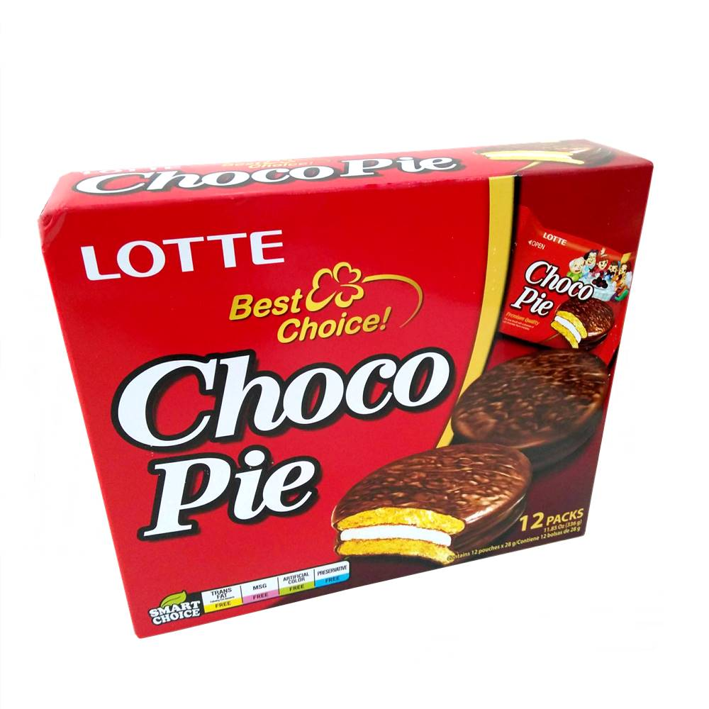 Alfajor de Chocolate Chocopie 336g - Lotte