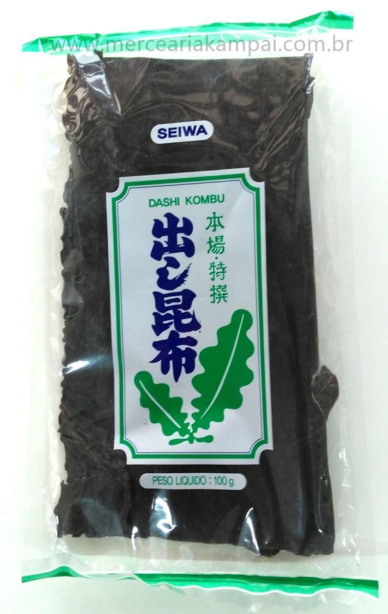 Alga Marinha Dashi Kombu 100g