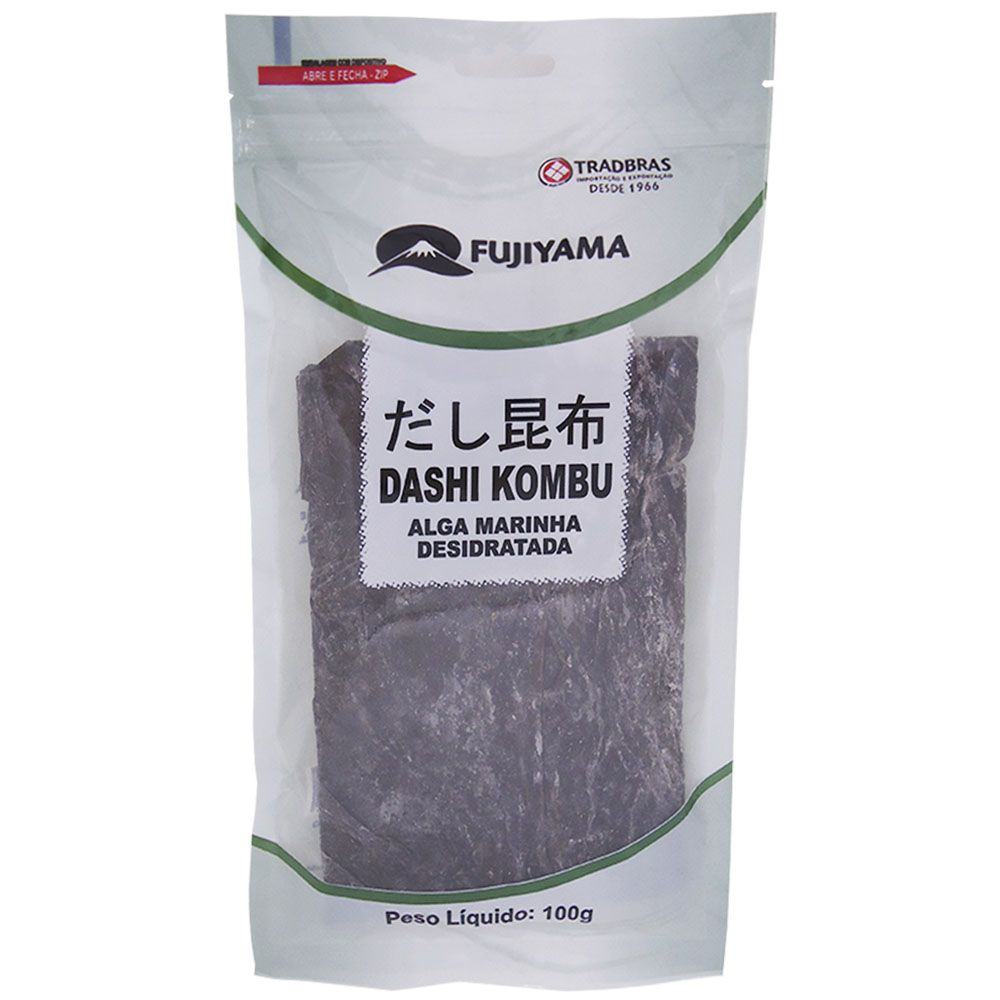 Alga Marinha Dashi Kombu Fujiyama 100g