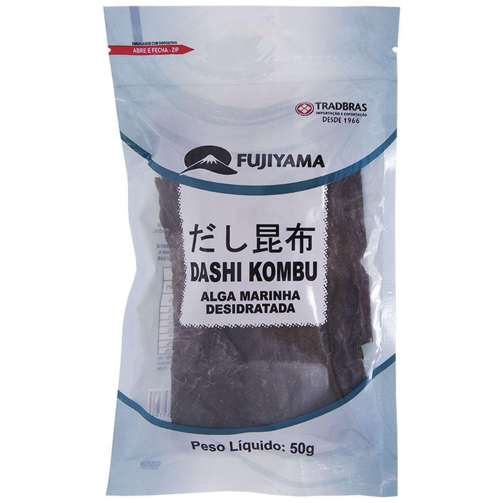Alga Marinha Kombu Desidratado 50g - Fujiyama