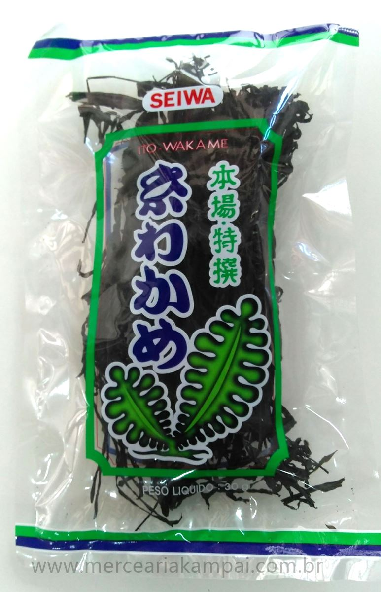 Alga Marinha Ito Wakame 30g - Seiwa