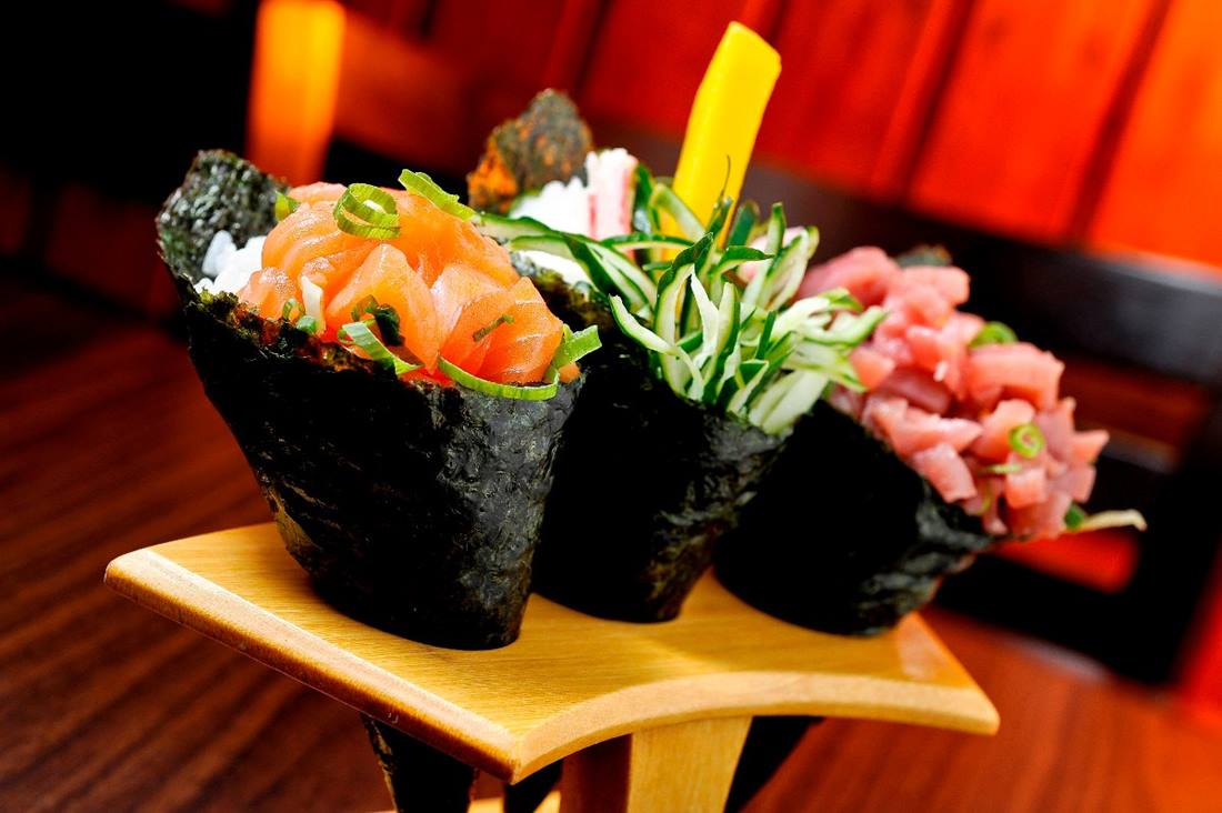 Alga Marinha Yakinori Sushi Temaki Asakusa 50 Folhas