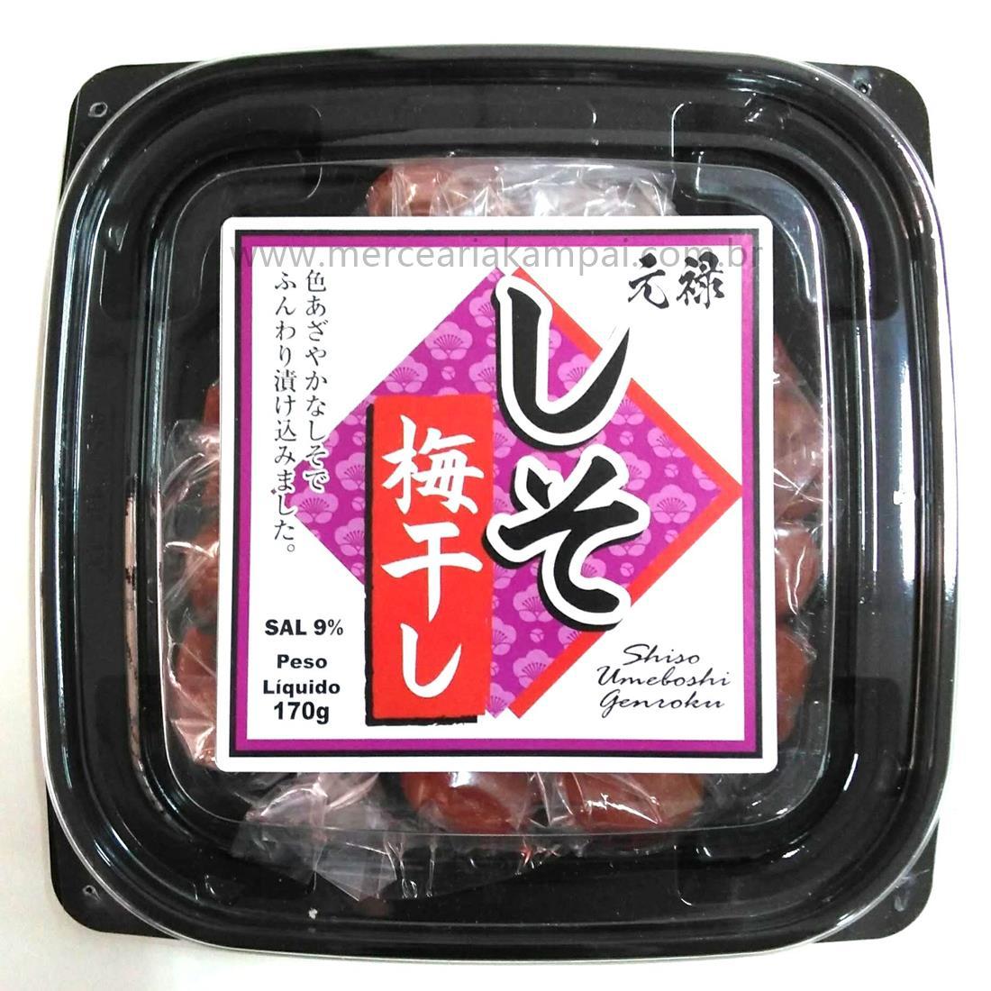 Ameixa Umeboshi em Conserva com Shissô 170g