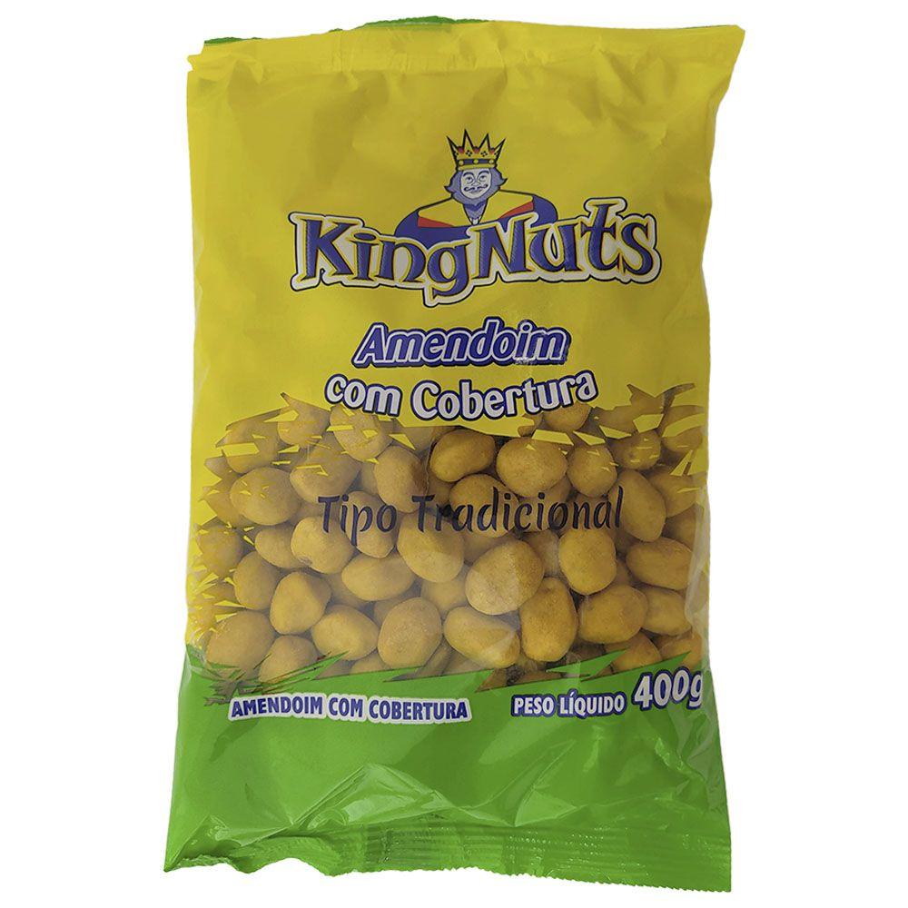 Amendoim Japonês com Cobertura tipo Tradicional 400g KingNuts