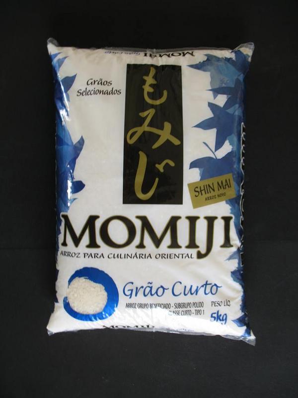 Arroz Japonês Momiji Curto - 5kg
