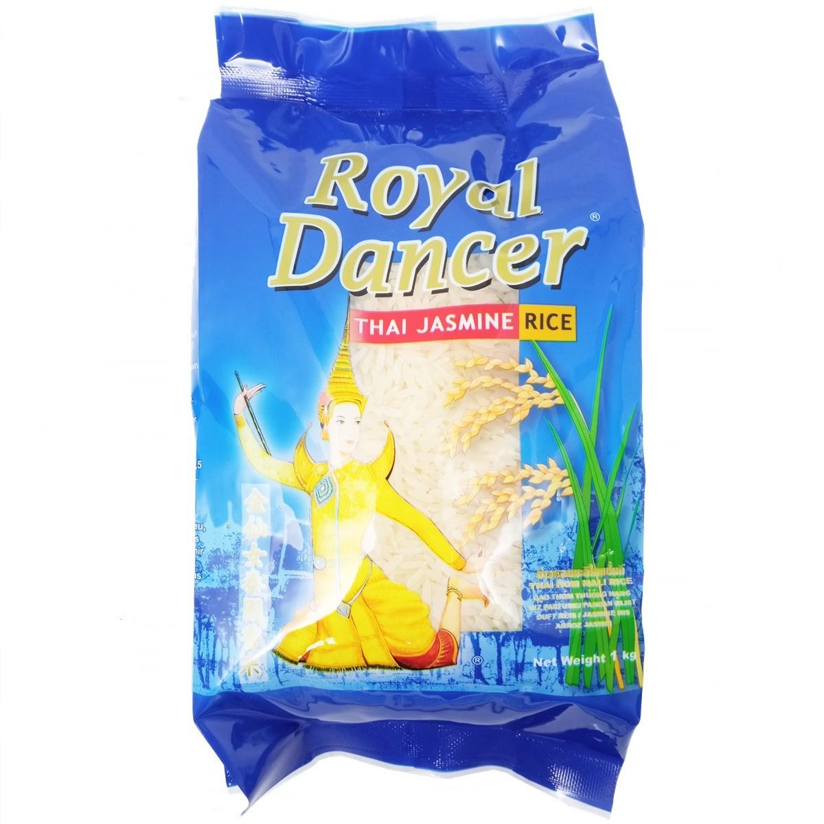 Arroz Tailandês Jasmine 1kg - Royal Dancer