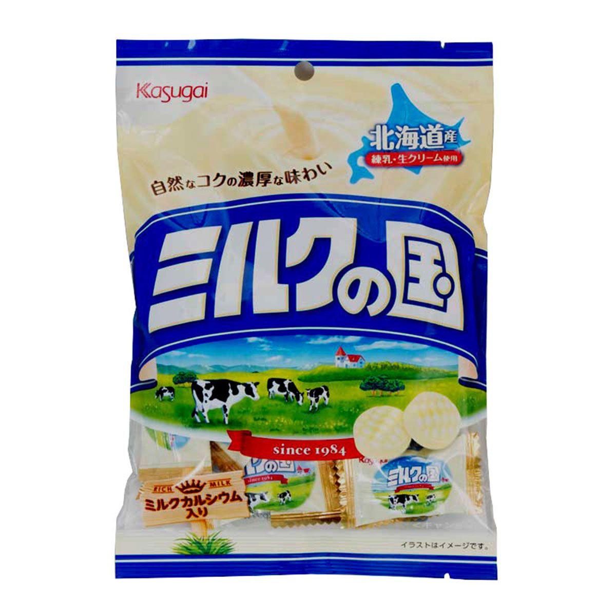 Bala de Leite Milk no Kuni 120g - Kasugai