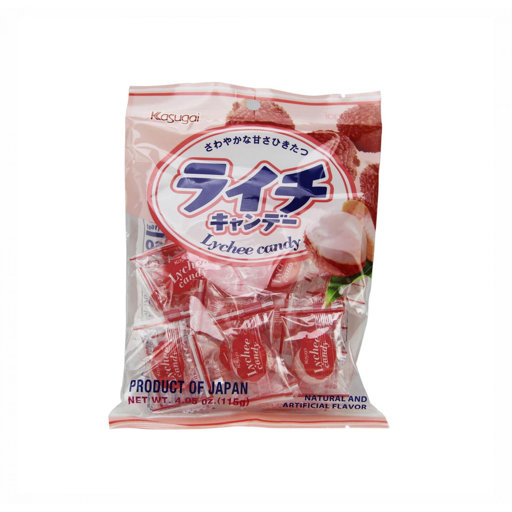 Bala Kasugai de Lichia (Lichee Candy) 115g