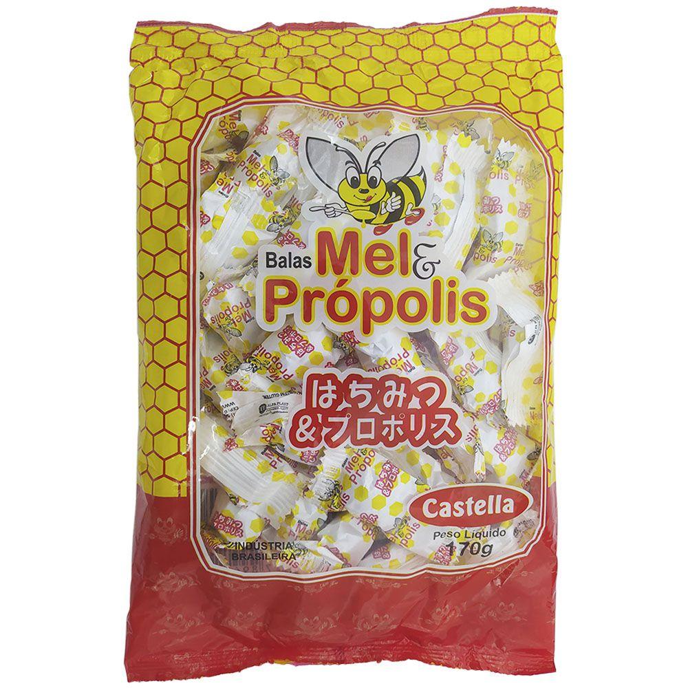 Balas Mel e Própolis 170g Castella