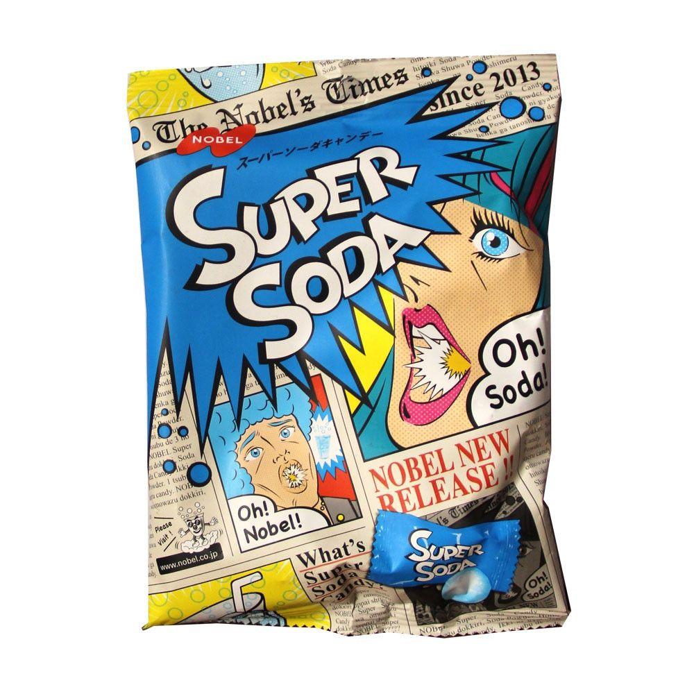 Balas Super Soda Importada 84g - Nobel