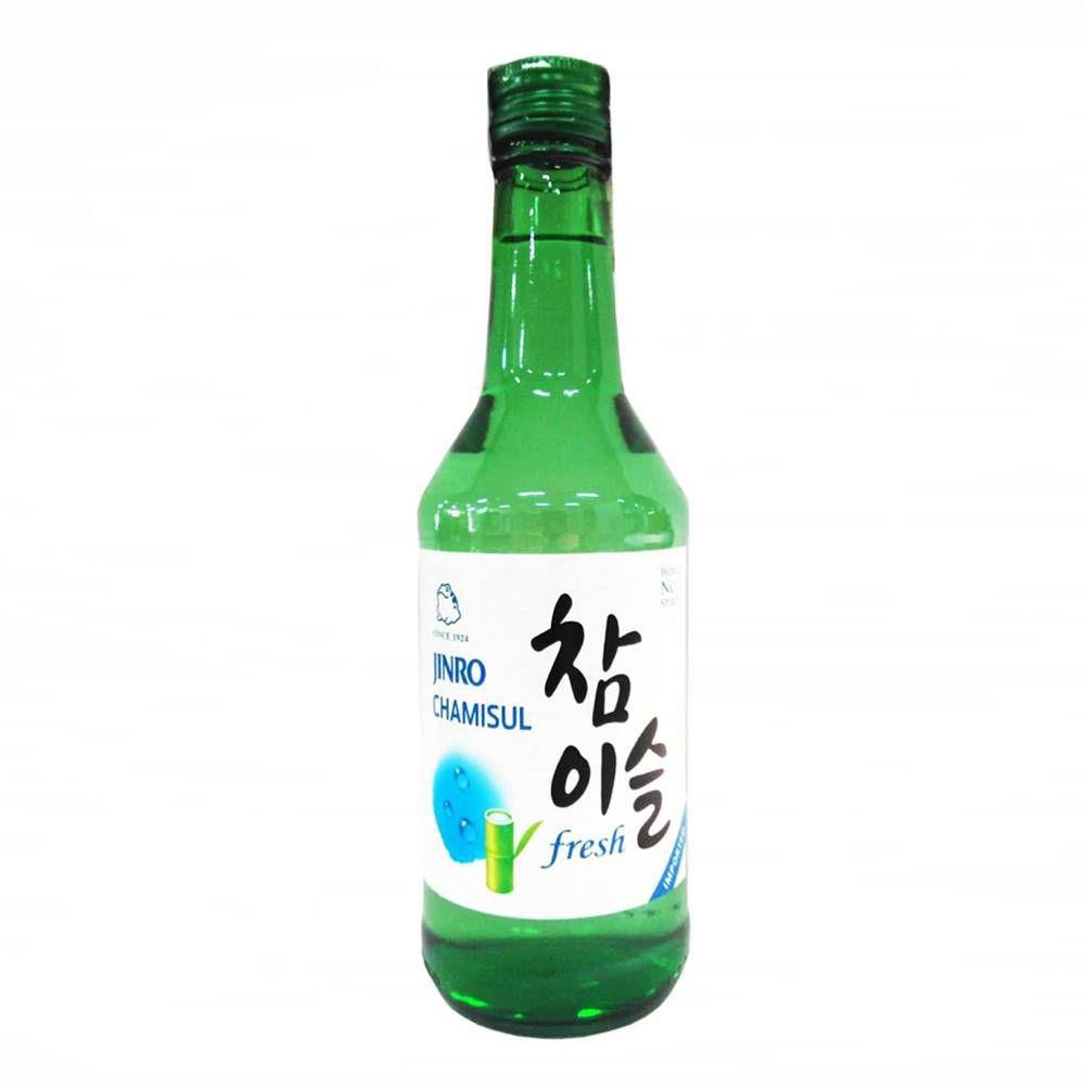 Bebida Coreana Soju Chamisul Fresh 17.8% 360ml