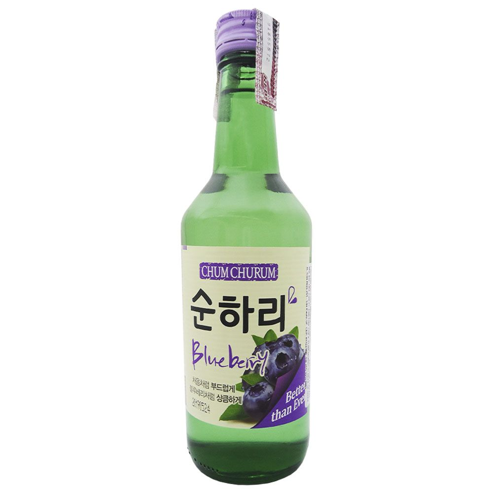 Bebida Coreana Soju Mirtilo 360ml Chum Churum