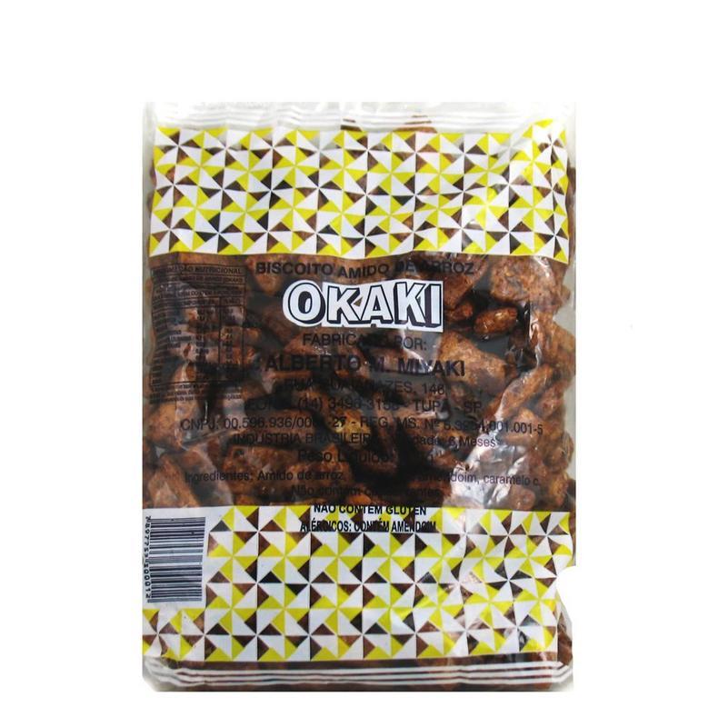 Biscoito: Amido de Arroz - Okaki 200g