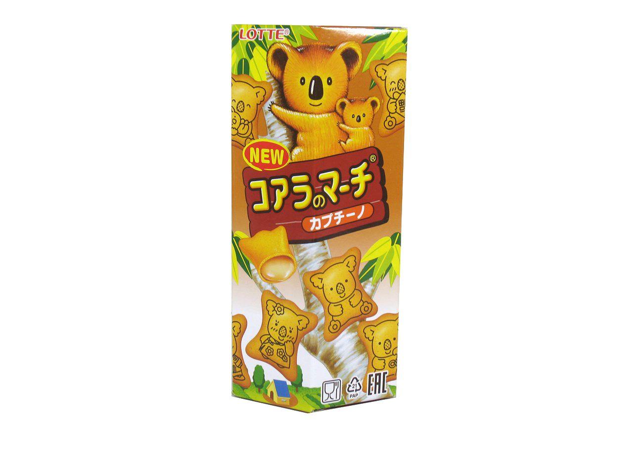 Biscoito com Recheio de Cappuccino Koala 49g - Lotte