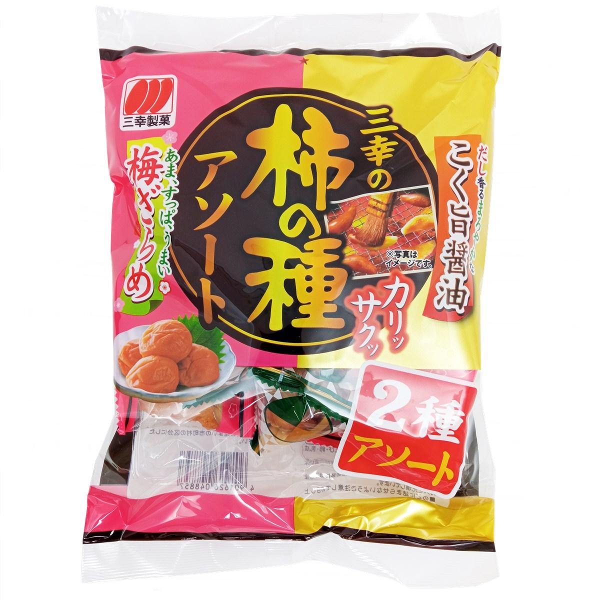 Biscoito Sortido Kaki no Tane 58g - Sanko