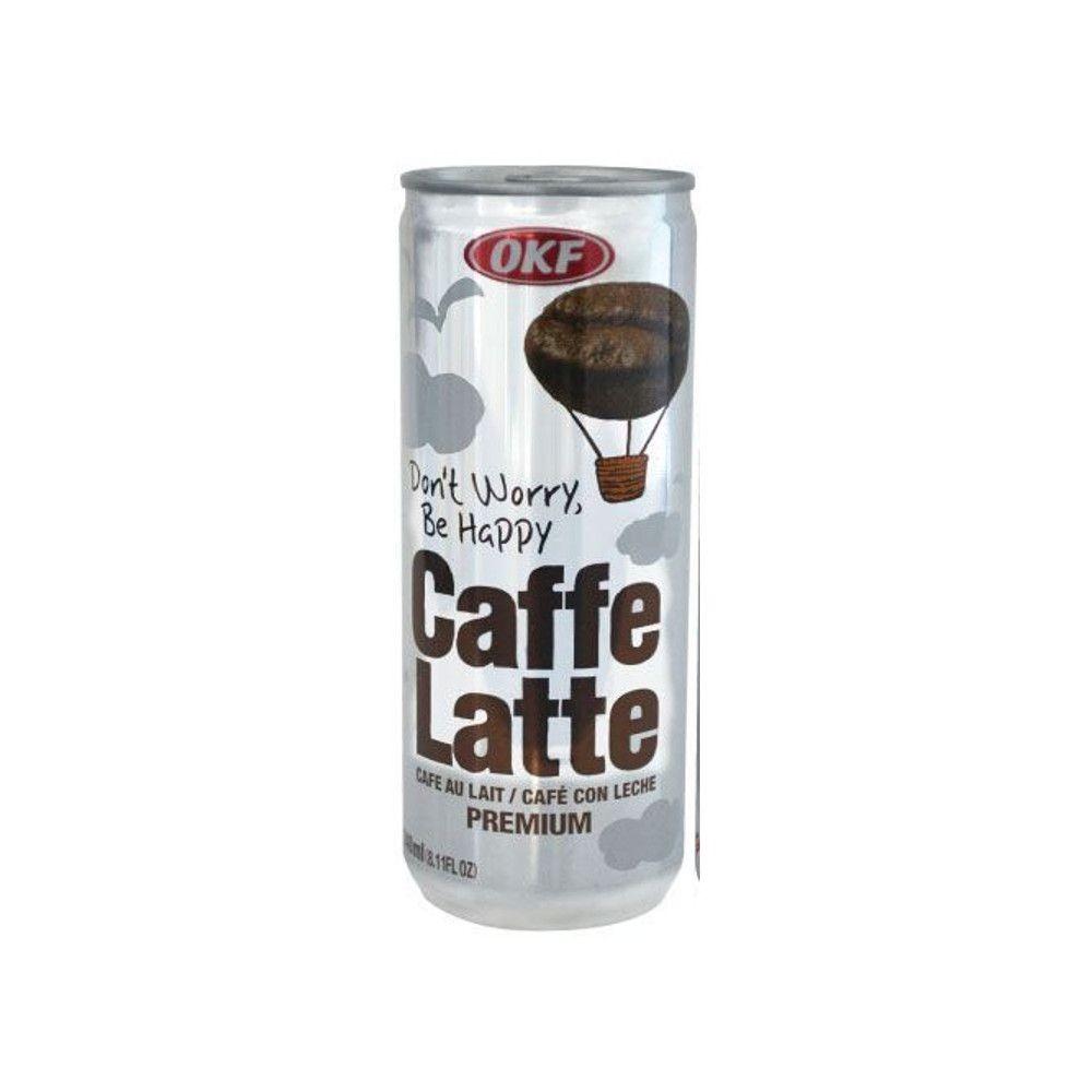 Café com Leite Gelado Caffe Latte 240ml - OKF