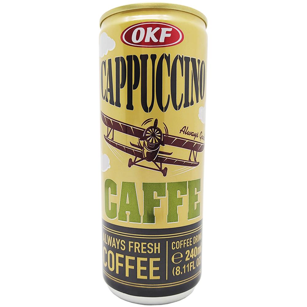 Cappuccino Premium Coffe Drink 240ml Okf