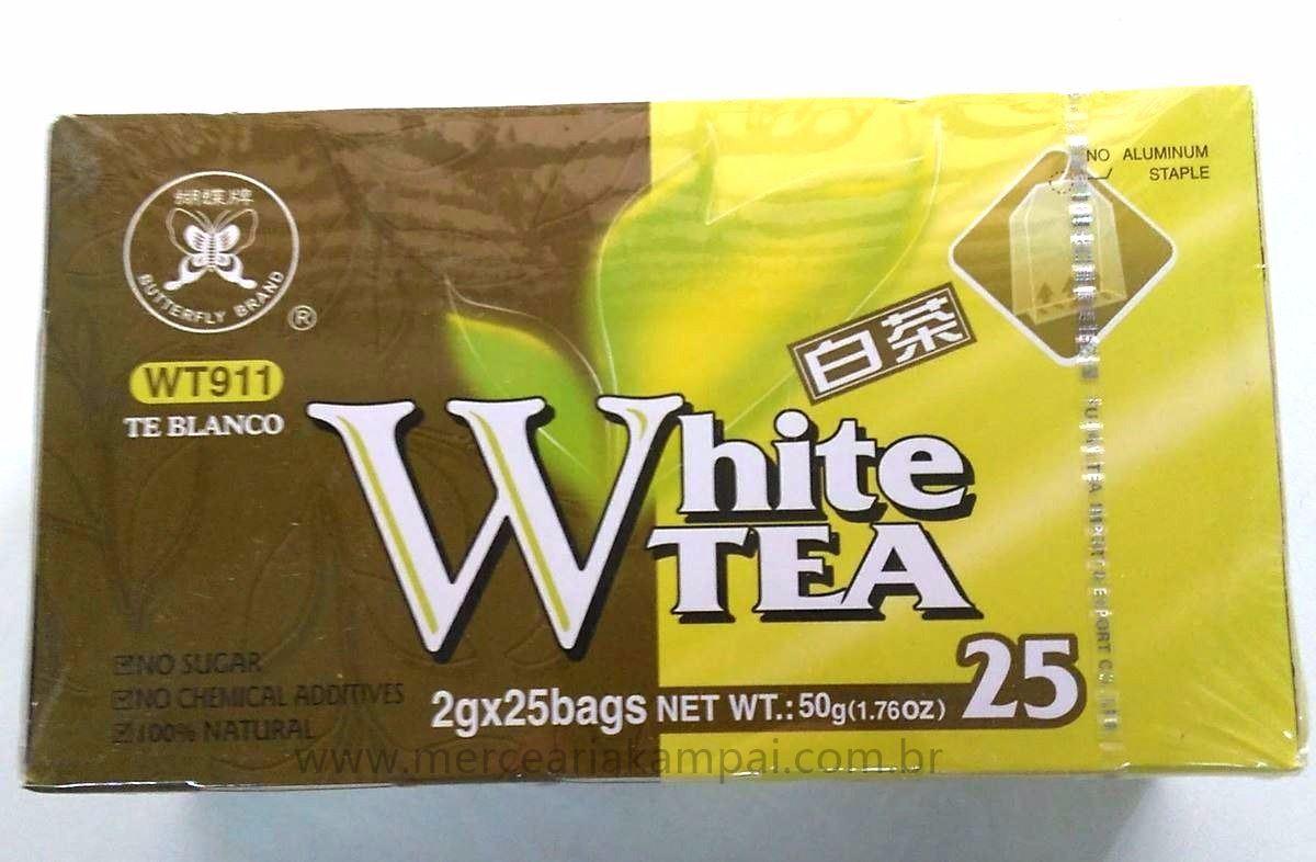 Chá Branco Fujian 25 Sachês 50g