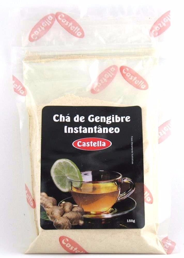 Chá de Gengibre Instantâneo Castella 150g