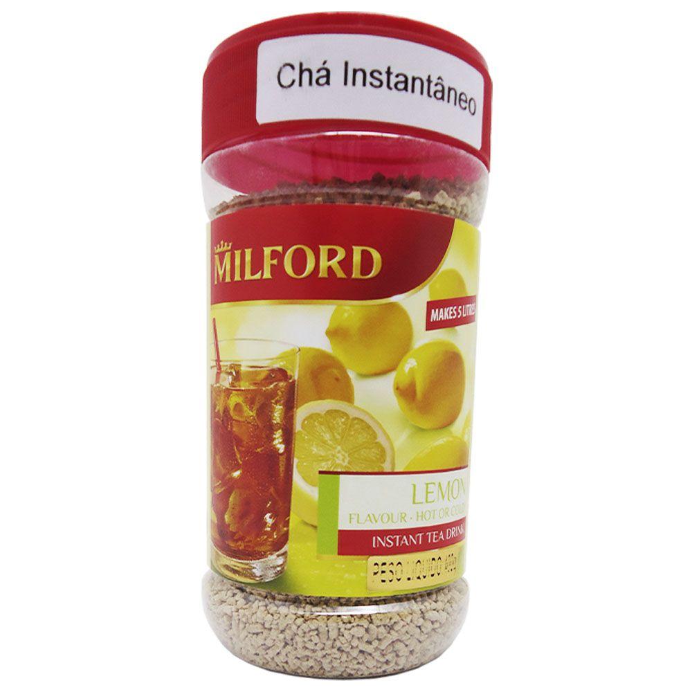 Chá Instantâneo Sabor Limão 400g - Milford