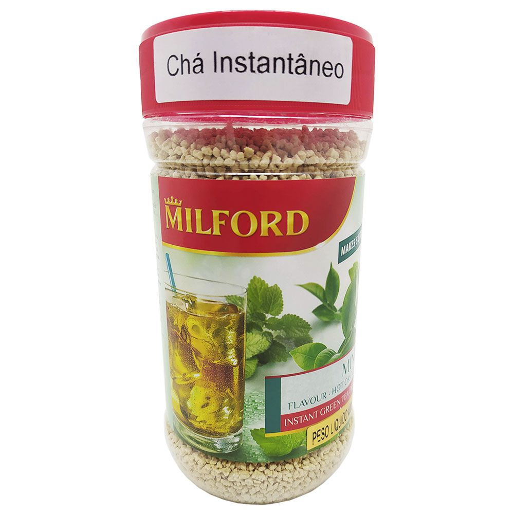 Chá Instantâneo Sabor Menta 400g Milford