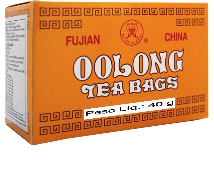 Chá Oolong Fujian Tea (20 Sachês) - 40g