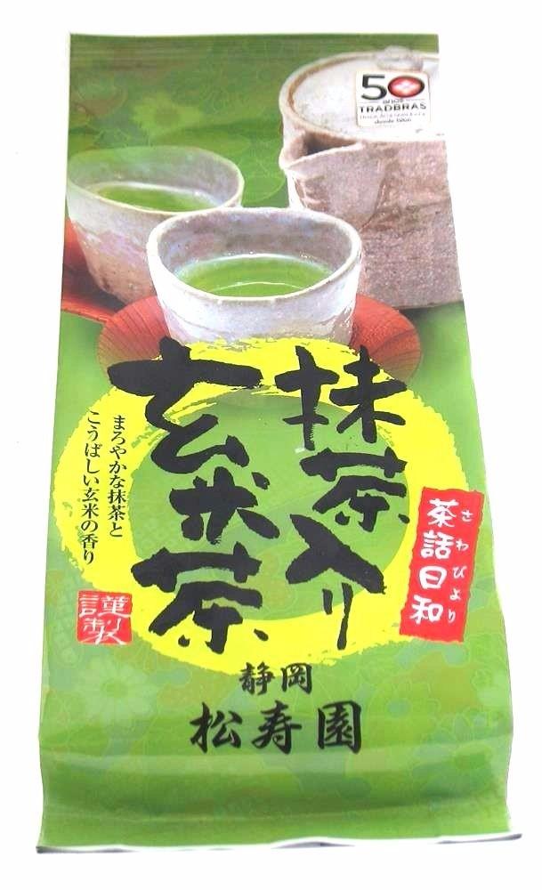 Chá Verde com Arroz Integral Maruka 150g- Guenmaicha & Sencha