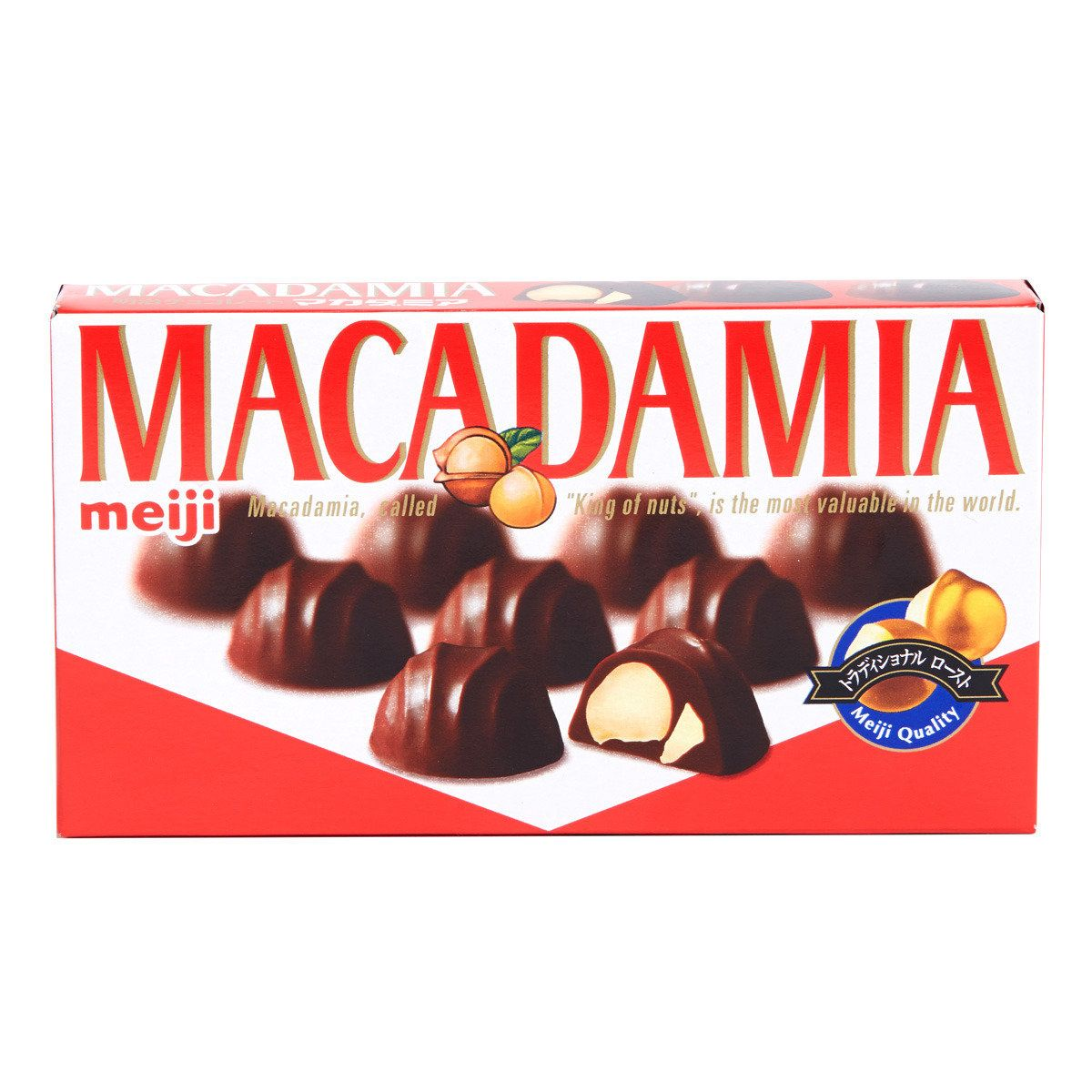 Chocolate Japao Meiji Macadamia 64g