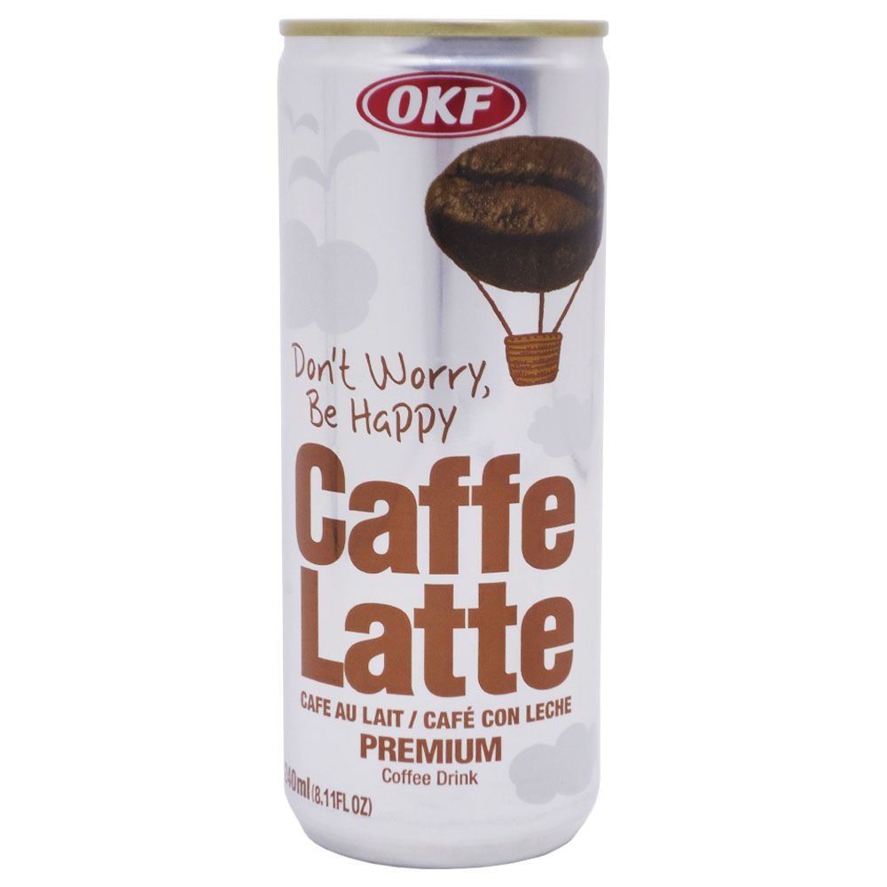 Coffe Latte Premium Coffe Drink 240ml Okf