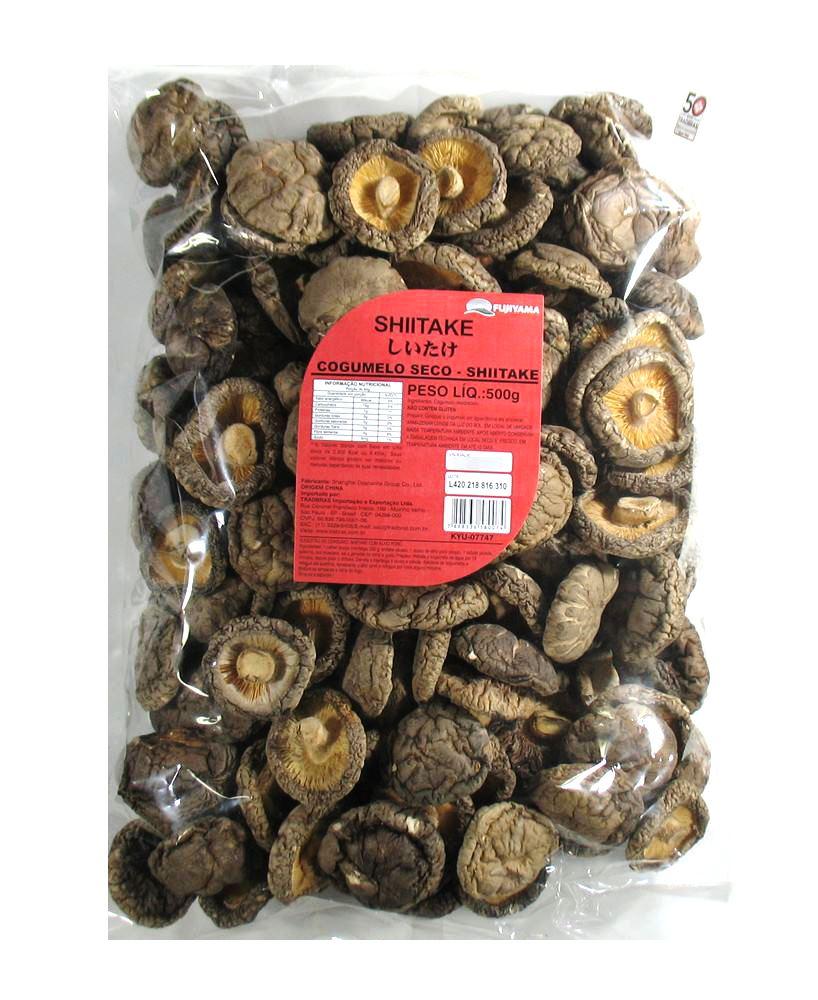 Cogumelo Seco - Shiitake 500g