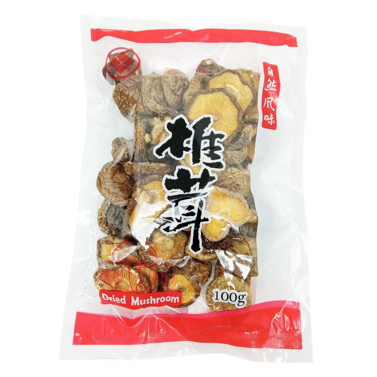 Cogumelo Shitake Shiitake Inteiro Desidratado 100g - Fuzhou Foods