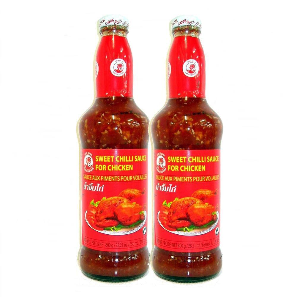 Combo  com 2 Molho Apimentado p/ Frango Sweet Chilli Sauce 650ml