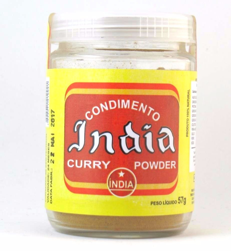 Condimento Curry 57g - India